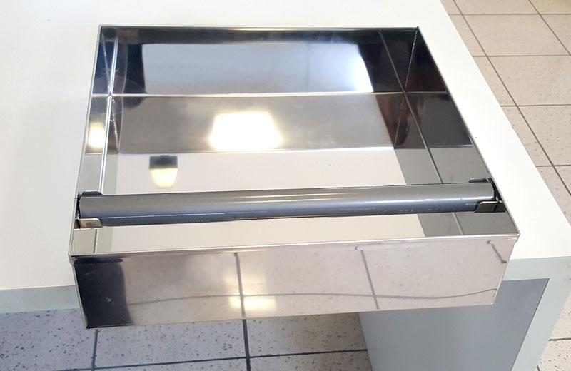 Lavorazioni acciaio inox - lavorazione metalli - cassetto