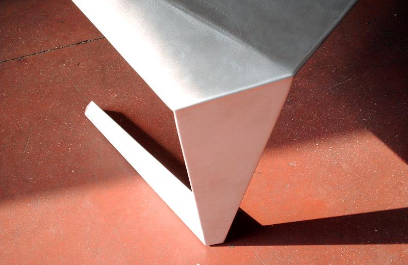 Lavorazioni metalliche - lavorazione acciaio inox Treviso - tavolo di design