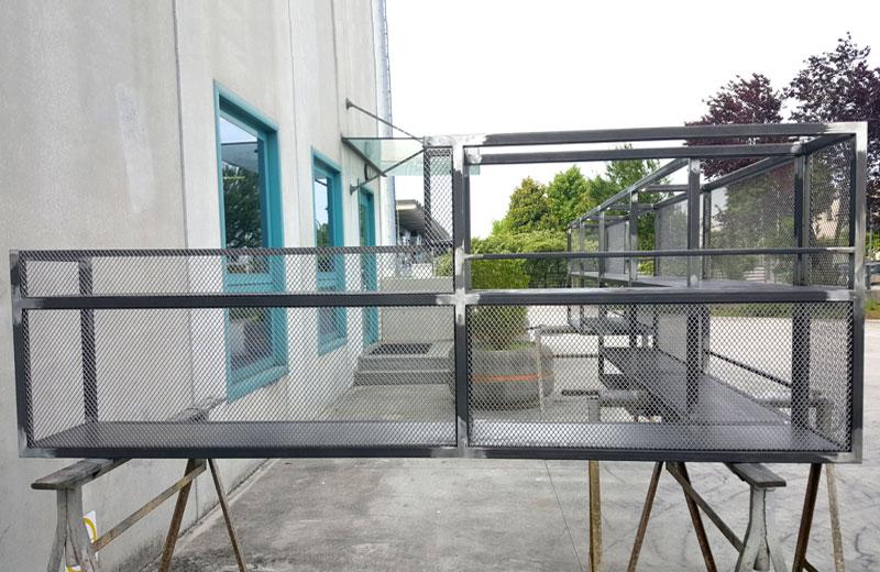 Lavorazione metalli - lavorazione acciaio inox Treviso - bottigliera