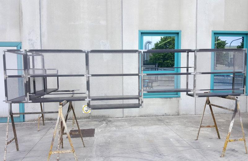 Lavorazioni acciaio inox - lavorazione metalli - struttura