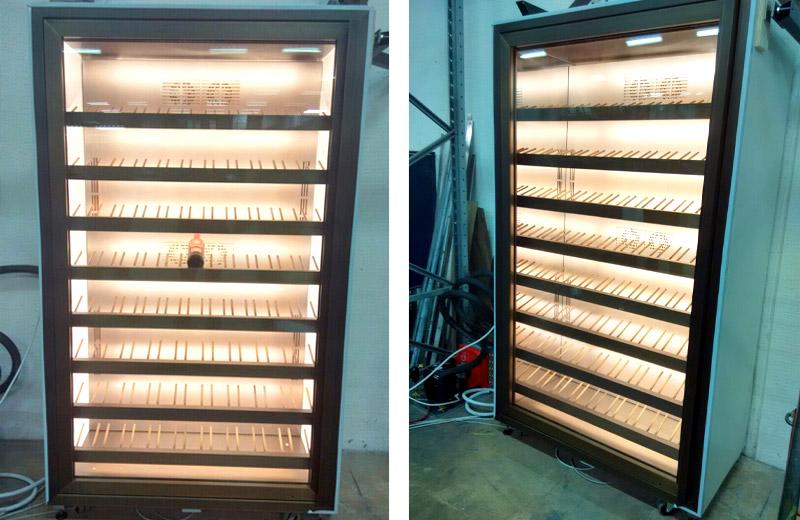 Lavorazioni acciaio inox - lavorazione metalli - armadio refrigerato