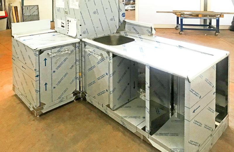 Lavorazione metalli - lavorazioni acciaio inox Treviso - mobile