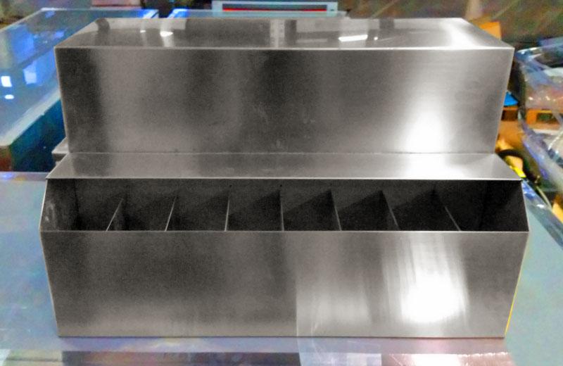 Lavorazione acciaio inox - lavorazione metalli Treviso - gelaterie yogurterie