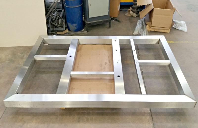 Lavorazioni metalliche - lavorazione acciaio inox Treviso - componenti in acciaio inox
