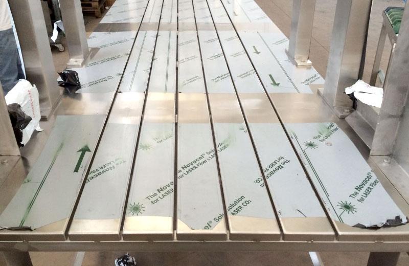 Lavorazione acciaio inox - lavorazione metalli Treviso - telai in acciaio inox