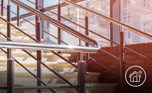 Lavorazione metalli - lavorazioni acciaio inox Treviso - edilizia e architettura