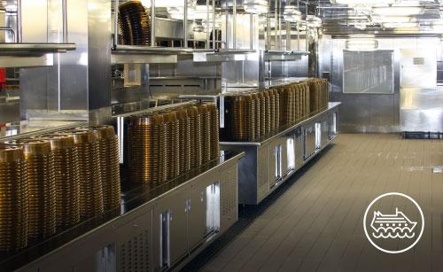 Lavorazione metalli - lavorazioni acciaio inox Treviso - industria navale