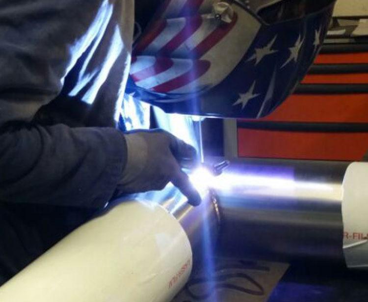 Lavorazioni metalliche - lavorazione acciaio inox Treviso - saldatura