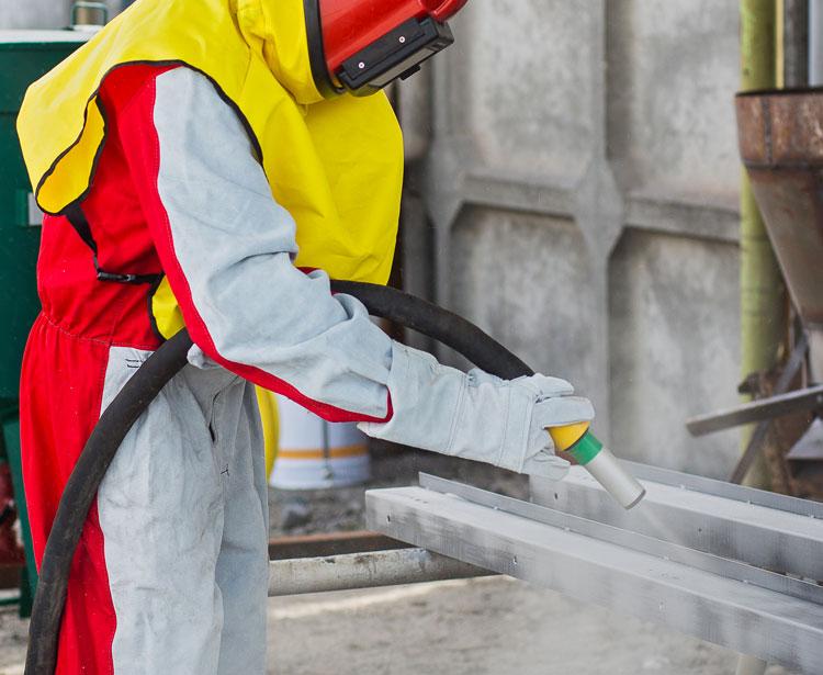 Lavorazione acciaio inox - lavorazione metalli Treviso - sabbiatura 3